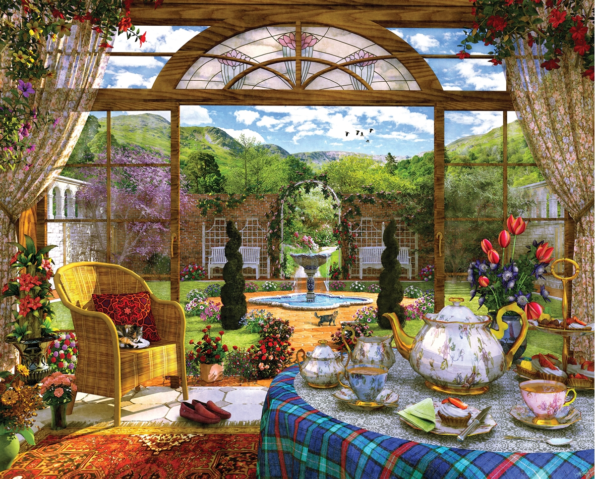 Best Conservatory 1000pc Puzzle You Can Buy