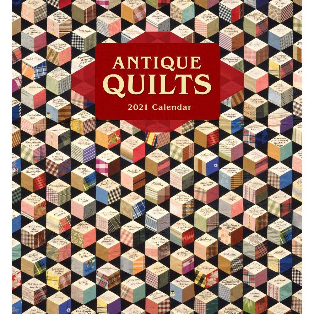 2021 Antique Quilts Wall Calendar
