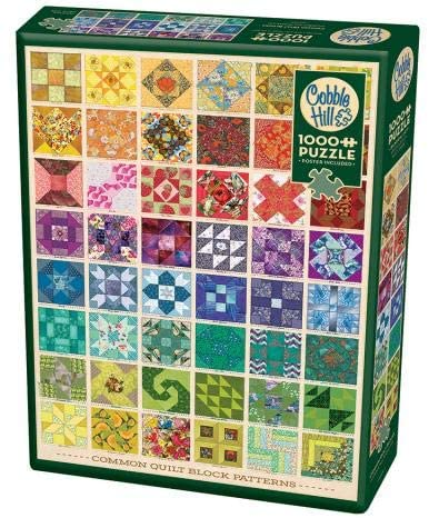 Best Common Quilt Blocks 1000pc Puzzle You Can Buy