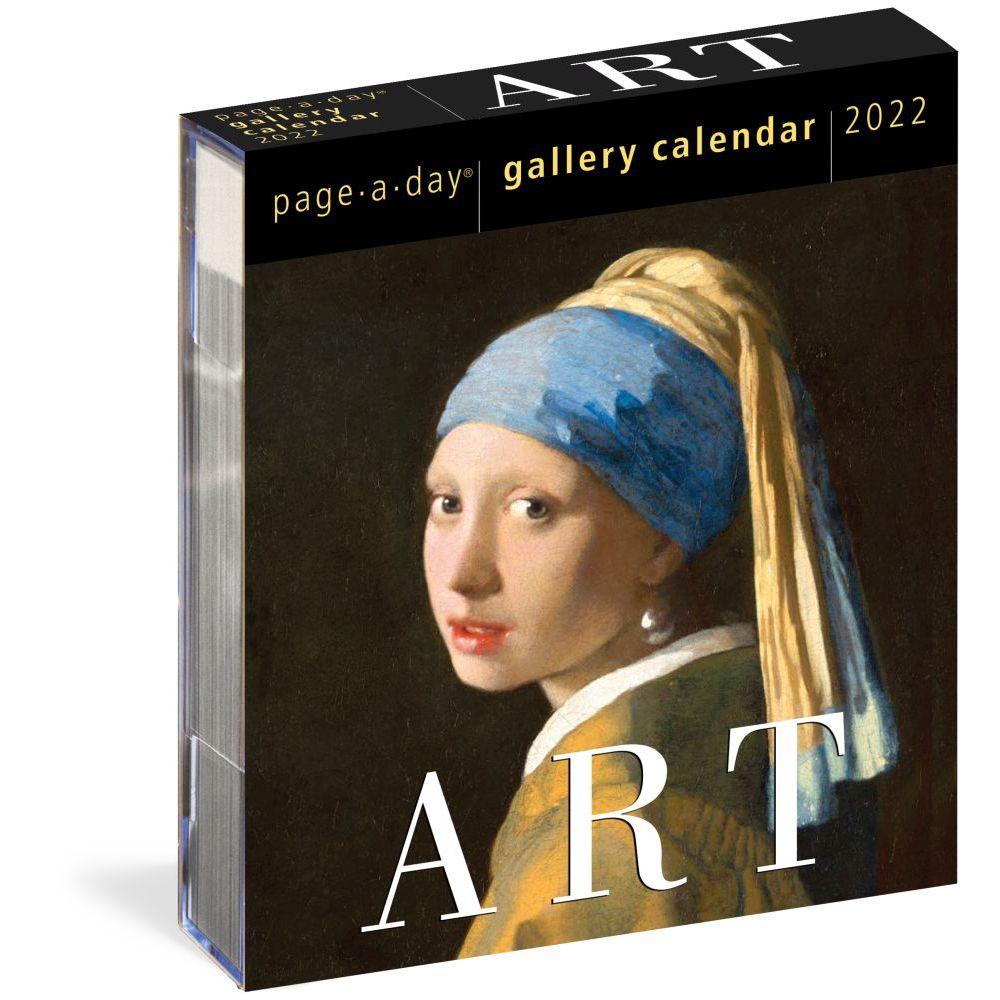 Art Gallery 2022 Desk Calendar