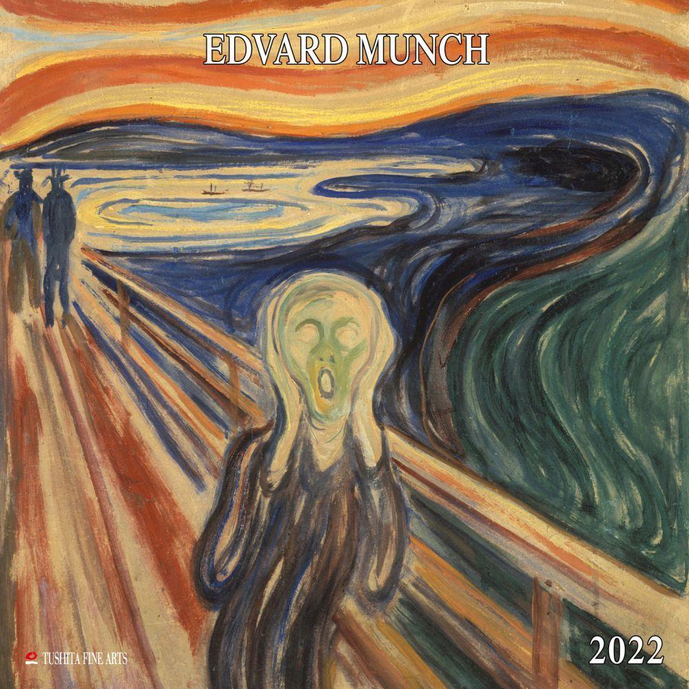 Munch Tushita 2022 Wall Calendar