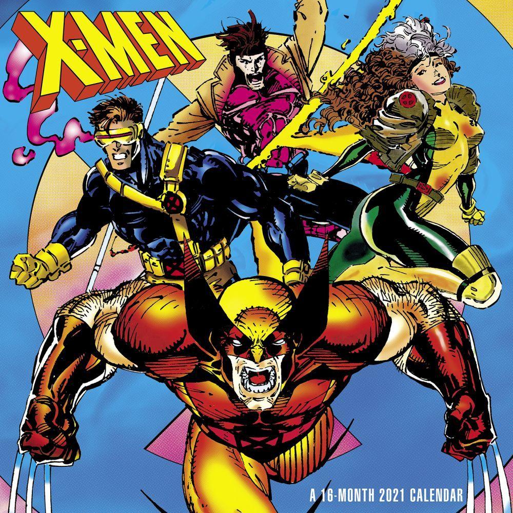 X Men Wall Calendar