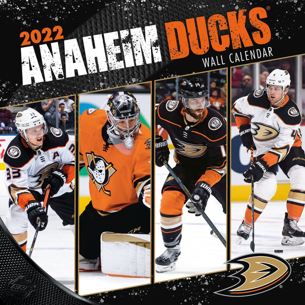 Anaheim Ducks 2022 Wall Calendar