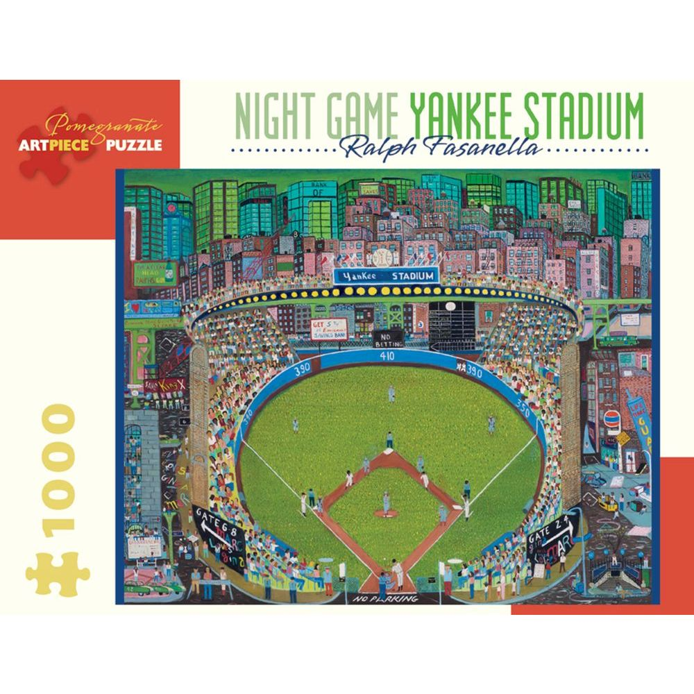 Best Night Game: Yankee Stadium 1000 pc Puzzle You Can Buy