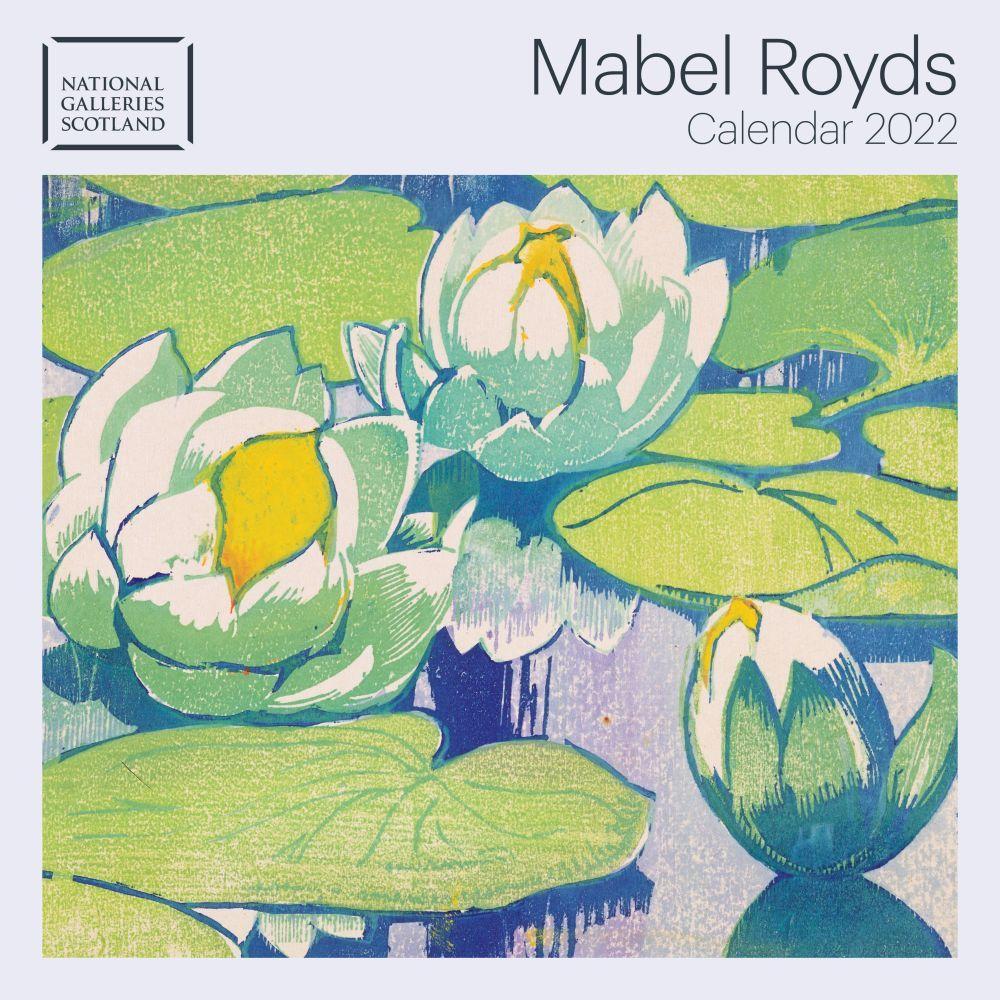 National Galleries Scotland Mabel Royds 2022 Wall Calendar