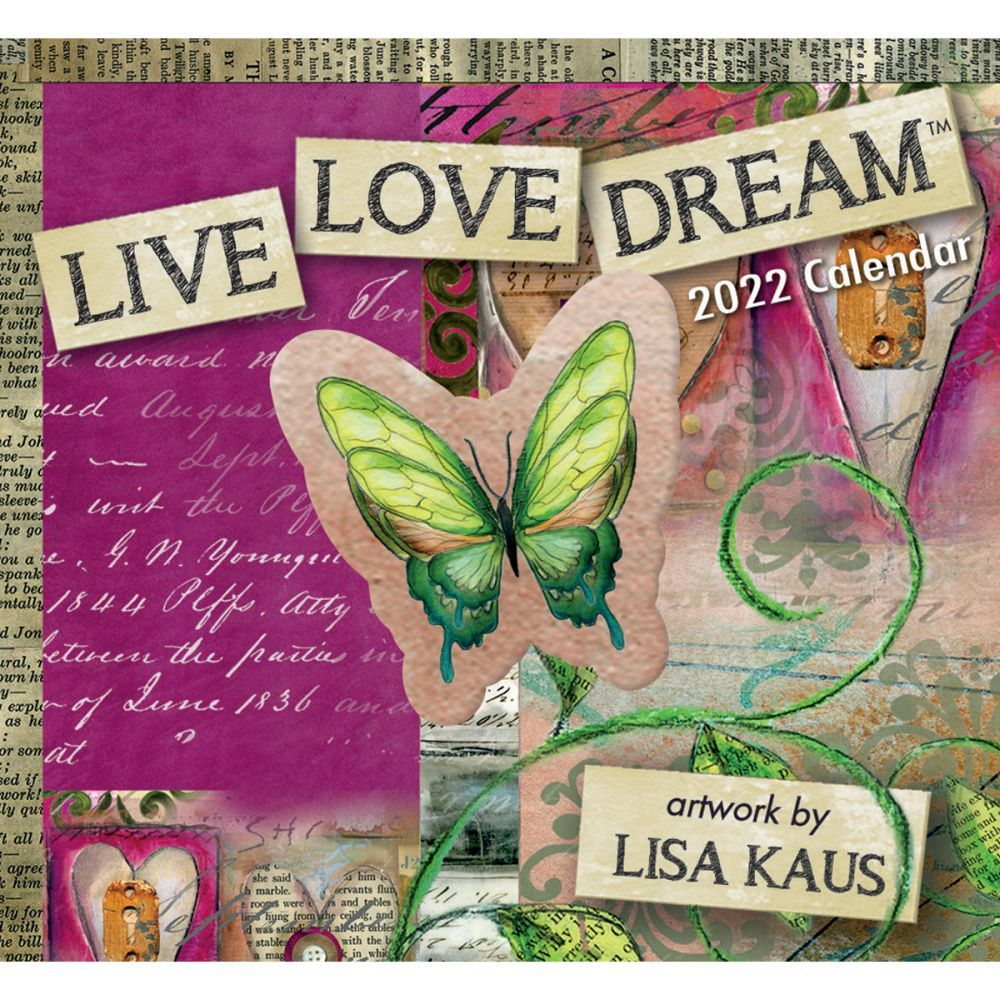 Live Love Dream 365 Daily Thoughts 2022 Desk Calendar