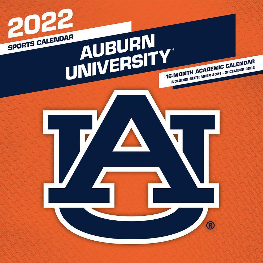 Auburn University Tiger Football 2022 Wall Calendar