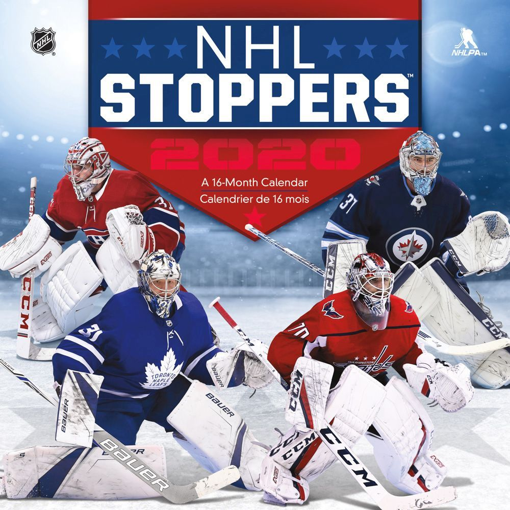 2021 NHL Stoppers Wall Calendar
