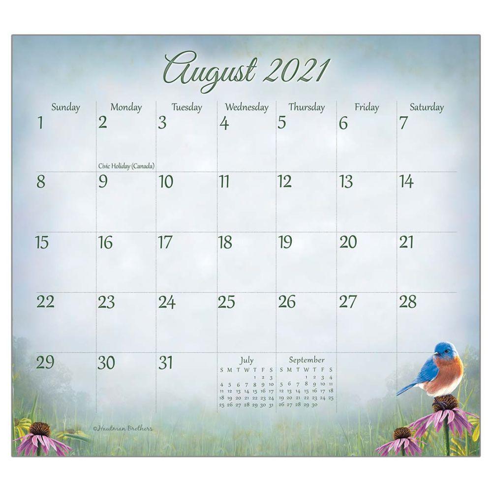 2021 Songbirds Magnetic Calendar