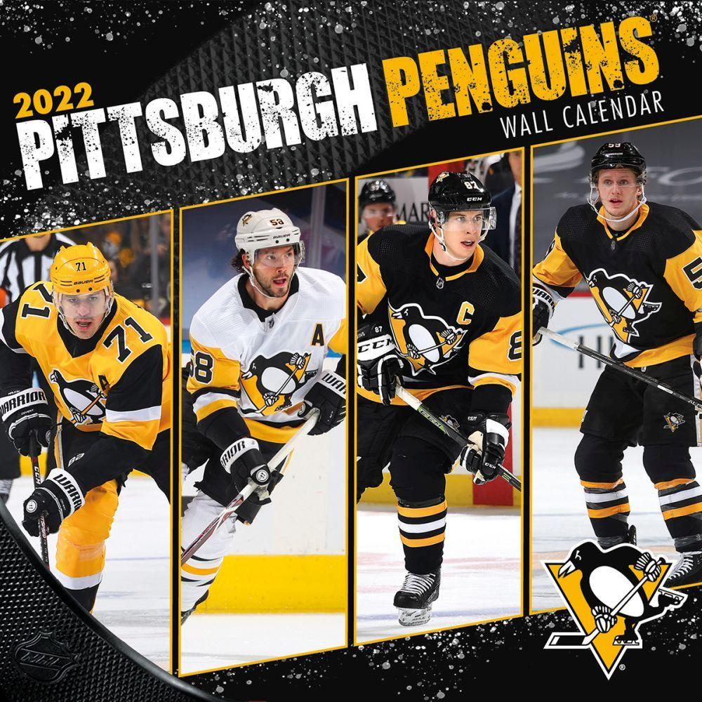 Pittsburgh Penguins 2022 Wall Calendar