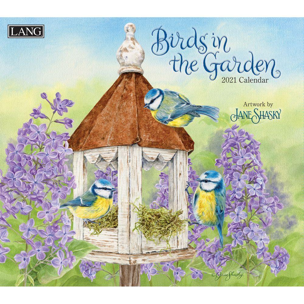2021 Birds in the Garden Wall Calendar by Jane Shasky