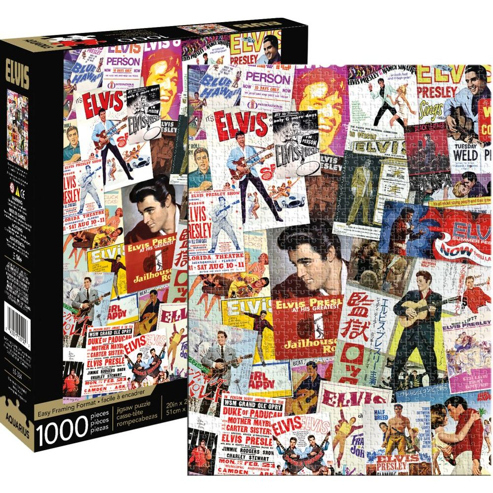 Best Elvis Collage 1000pc Puzzle  65334 You Can Buy