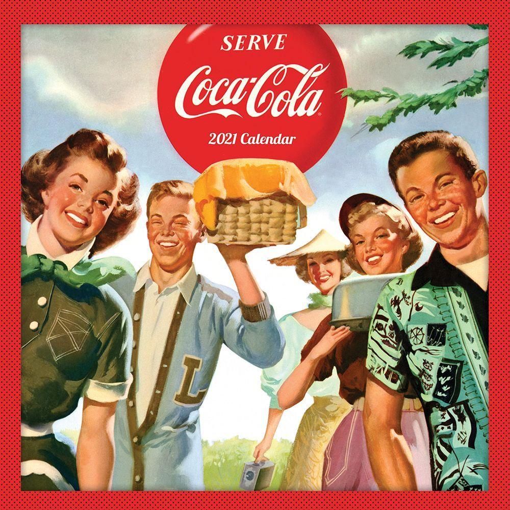 2021 Coca-Cola Anytime Nostalgia Wall Calendar