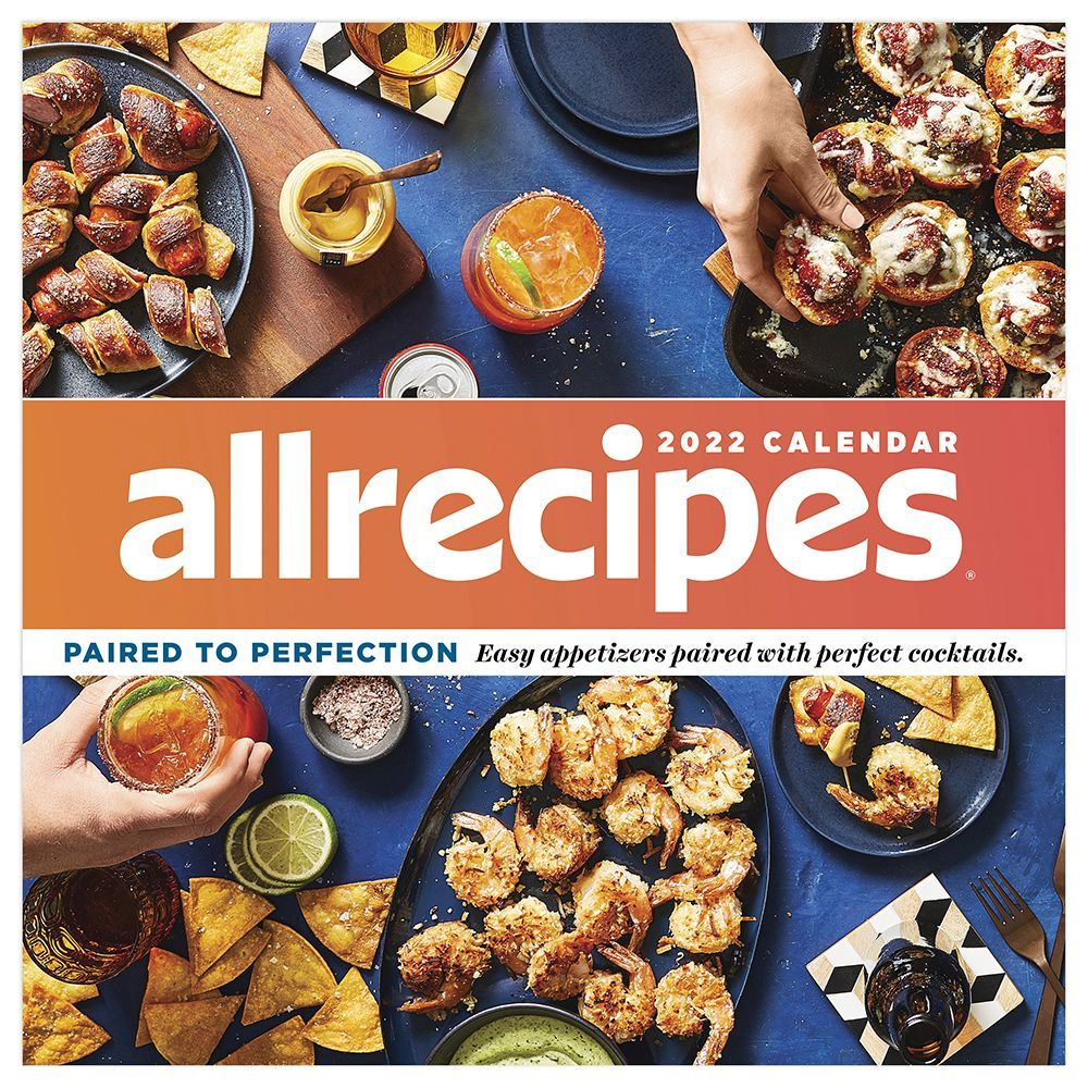 All Recipes Paired to Perfection 2022 Wall Calendar