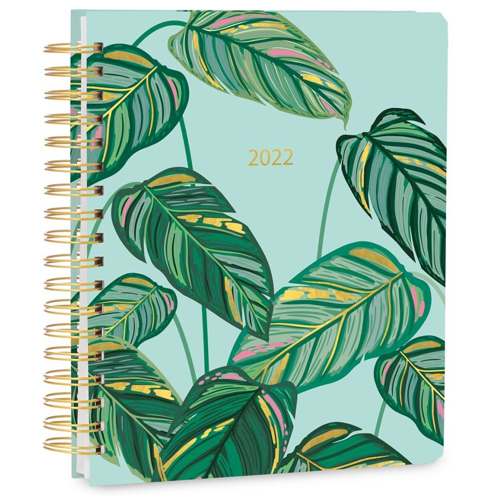 Greenery Deluxe Hard Cover High Note 2022 Planner
