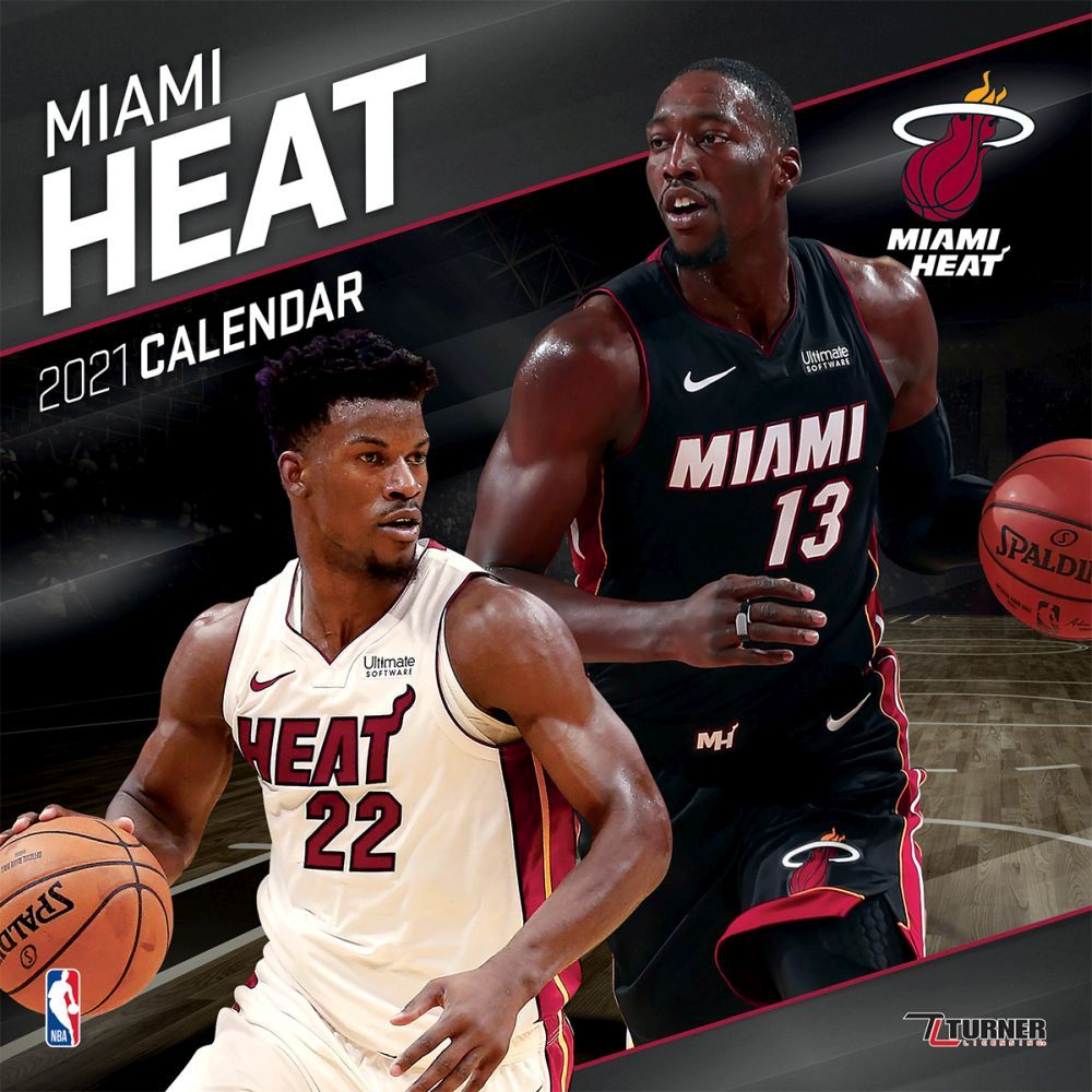 2021 Miami Heat Team Wall Calendar
