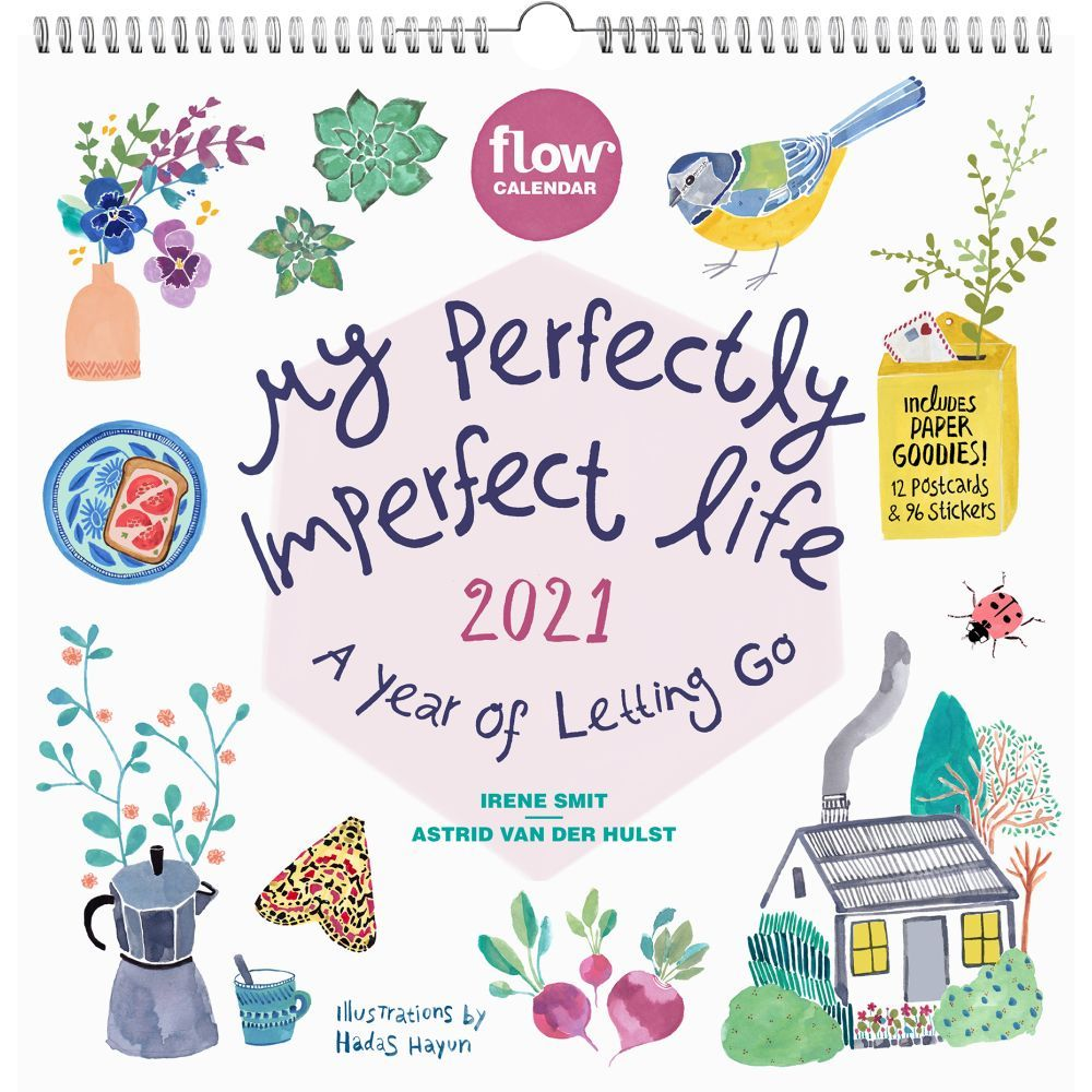 2021 My Perfectly Imperfect Life Wall Calendar