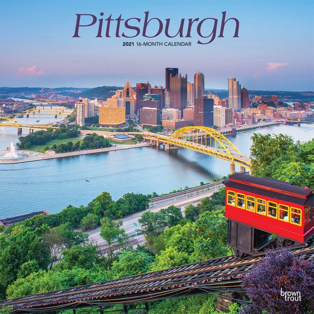 2021 Pittsburgh Wall Calendar