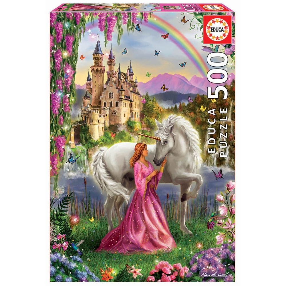 Best Fairy and Unicorn 500pc Puzzle You Can Buy