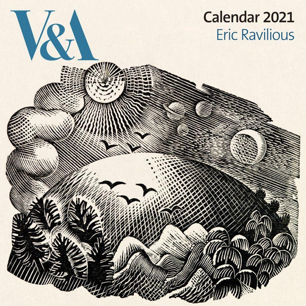 2021 Ravilious V&A Wall Calendar