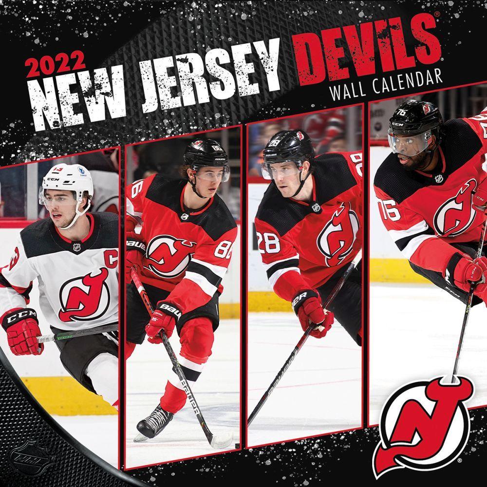New Jersey Devils 2022 Wall Calendar
