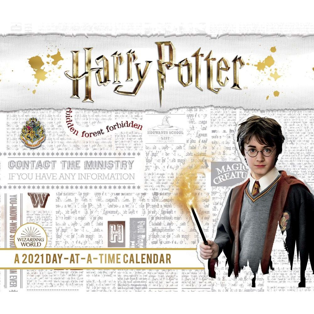 Harry Potter 2021 Desk Calendar