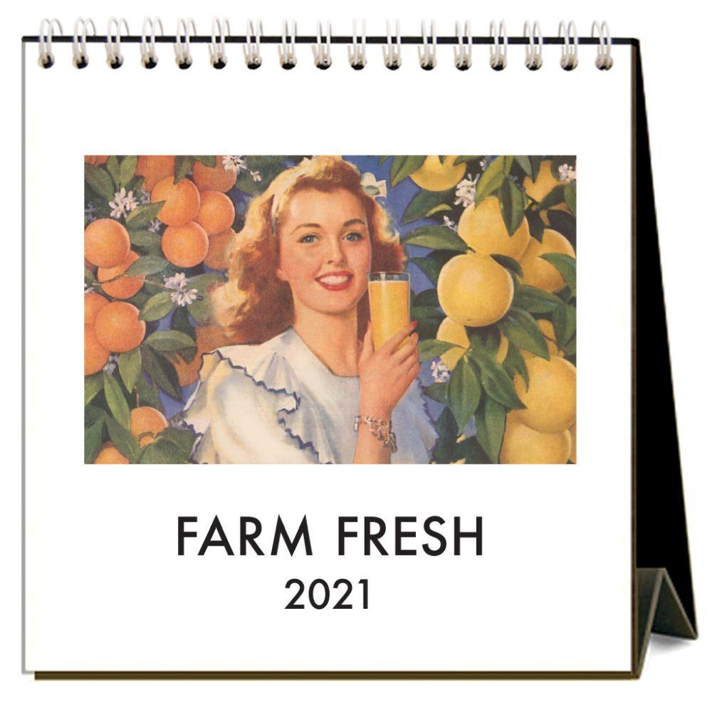 2021 Farm Fresh Easel Calendar