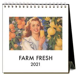 Farm Fresh Easel Calendar