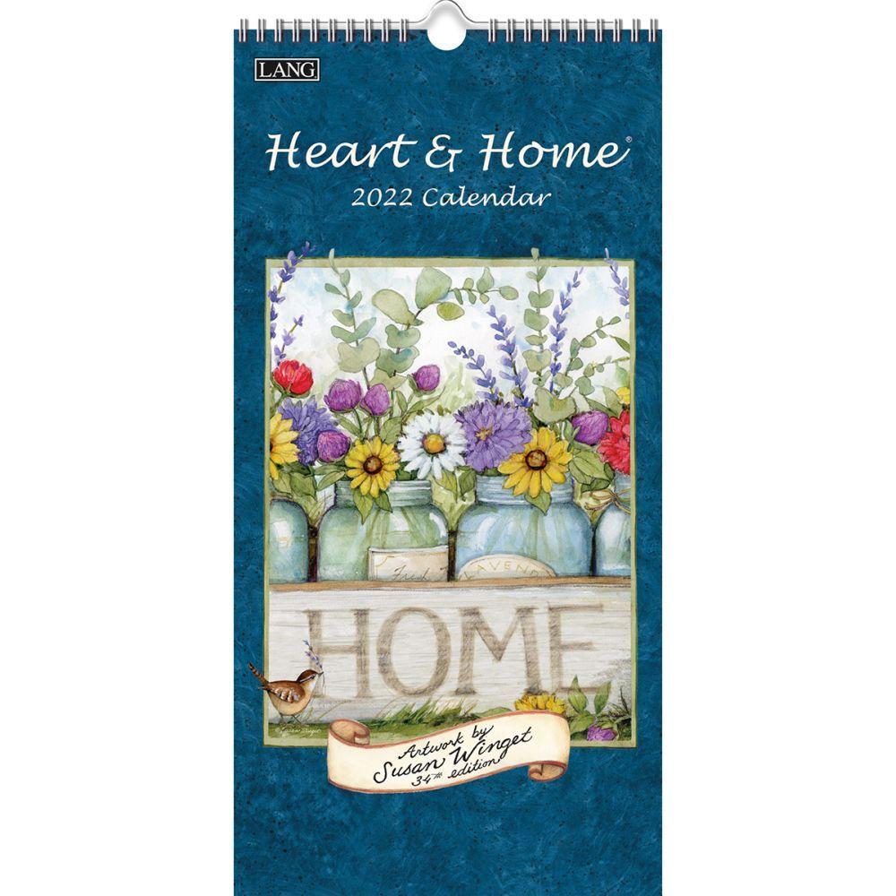 Susan Winget Heart & Home 2022 Vertical Wall Calendar