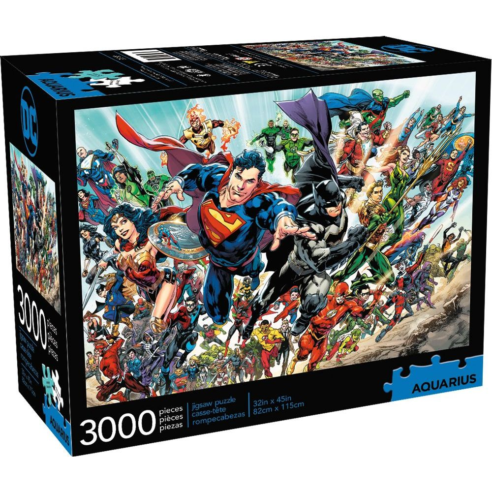 Best Dc Cast 3000pc Puzzle You Can Buy