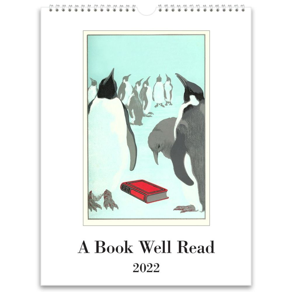 Book Well Read 2022 Poster Wall Calendar