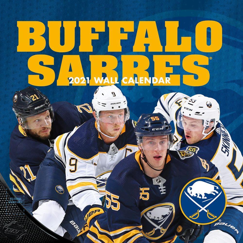 2021 Buffalo Sabres Wall Calendar