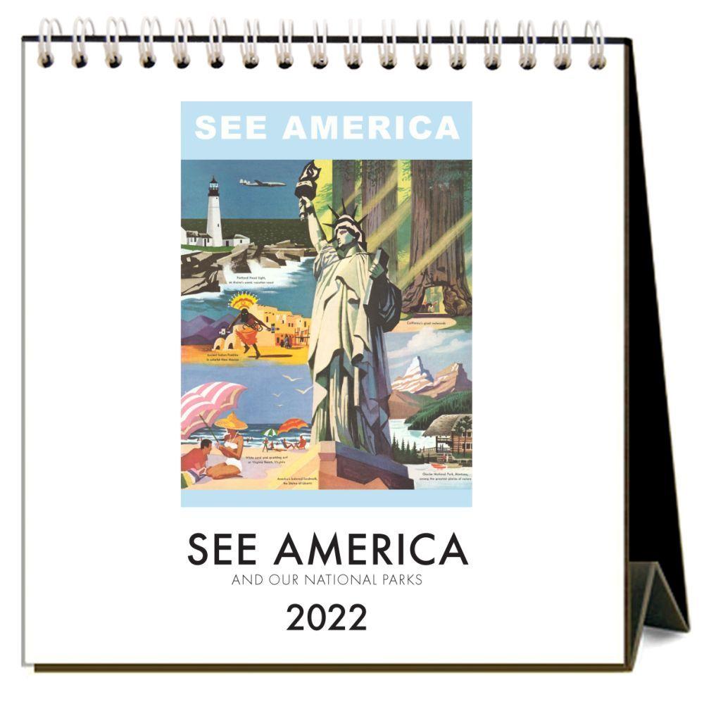 See America 2022 Desk Calendar