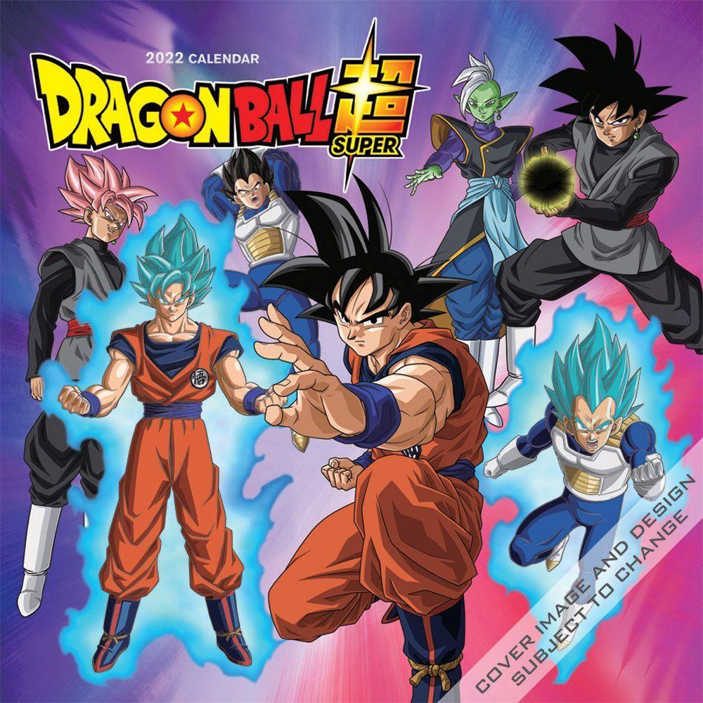 Dragon Ball Super 2022 Wall Calendar