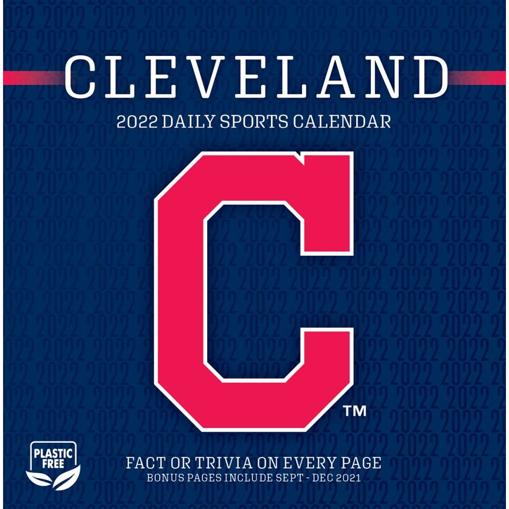 Cleveland Indians 2022 Desk Calendar
