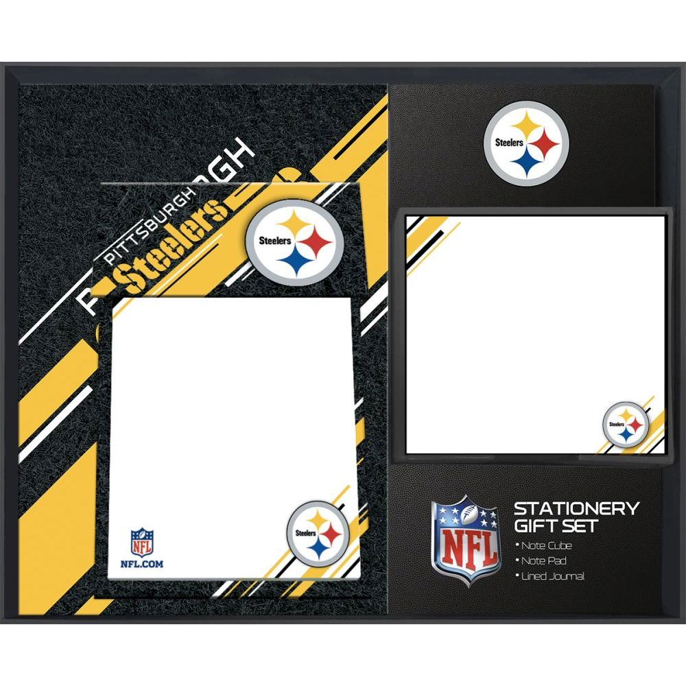 NFL-Pittsburgh-Steelers-Stationery-Gift-Set-1