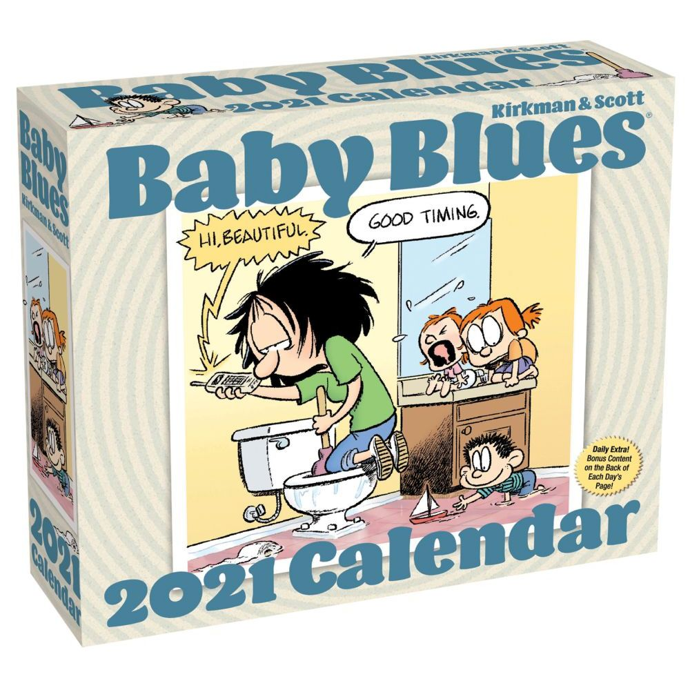 2021 Baby Blues Desk Calendar