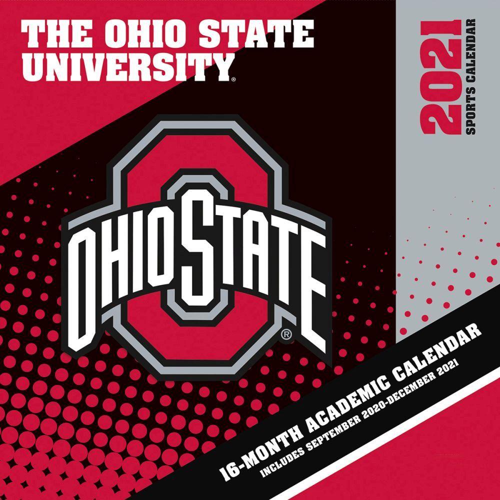 2021 Ohio State Buckeyes Mini Wall Calendar