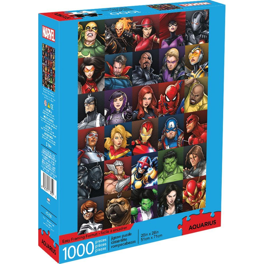 Best Marvel Heroes Collage 1000pc Puzzle You Can Buy