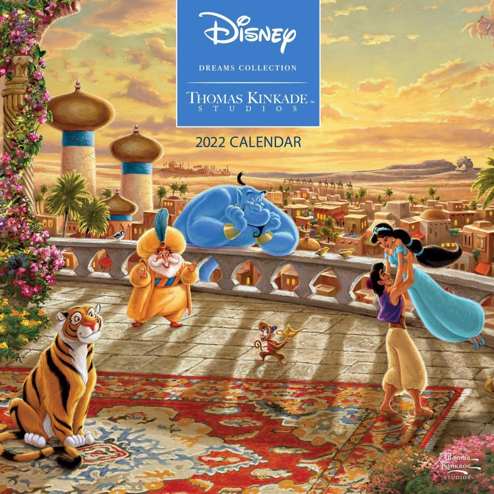 Thomas Kinkade Disney Dreams Collection 2022 Wall Calendar