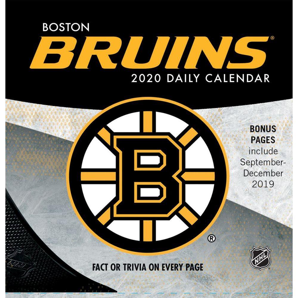Boston Bruins 2021 Desk Calendar