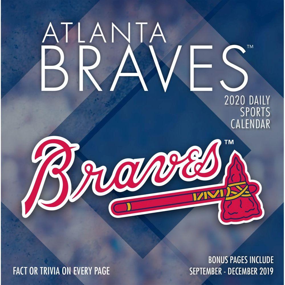 Atlanta Braves 2021 Desk Calendar