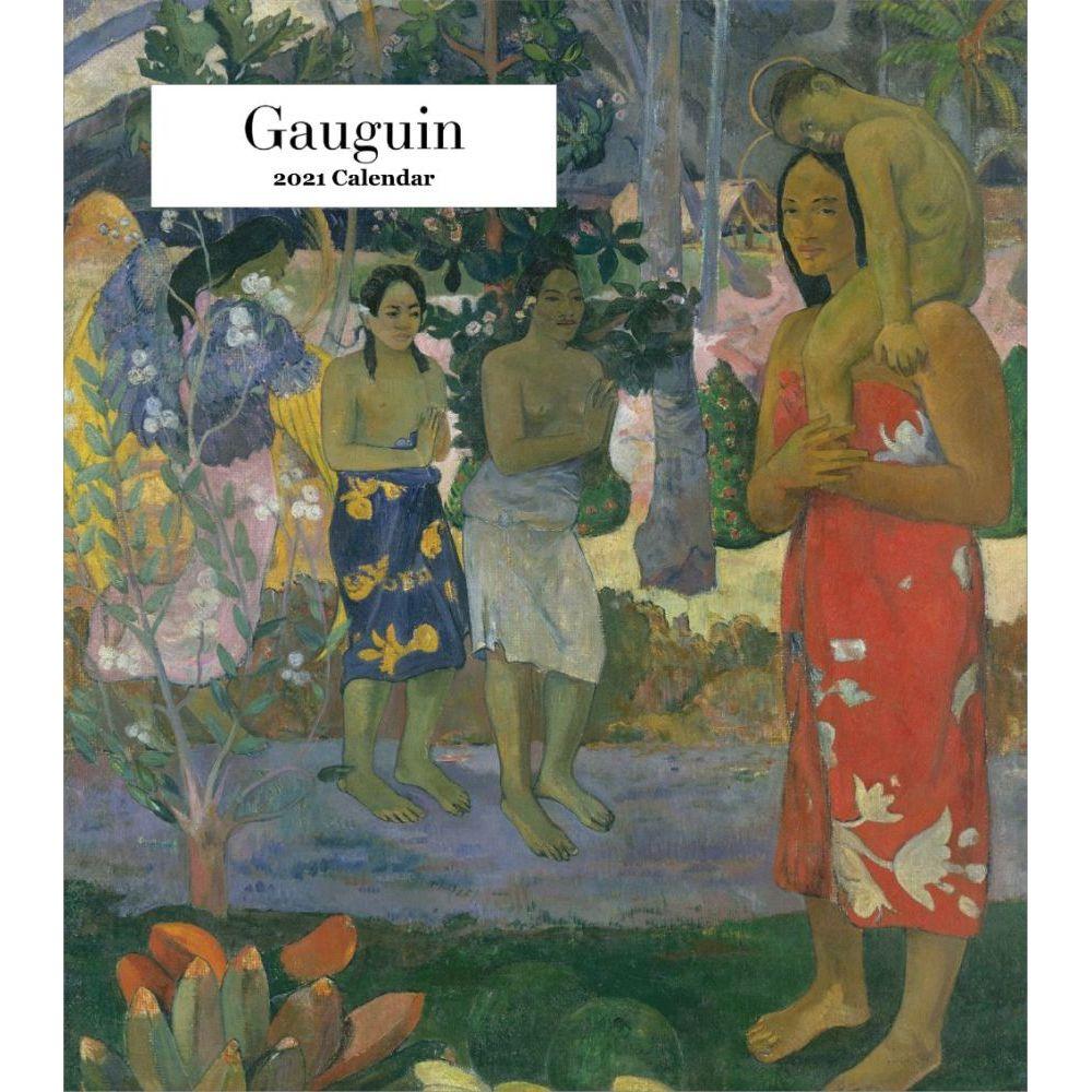 2021 Gauguin Easel Calendar