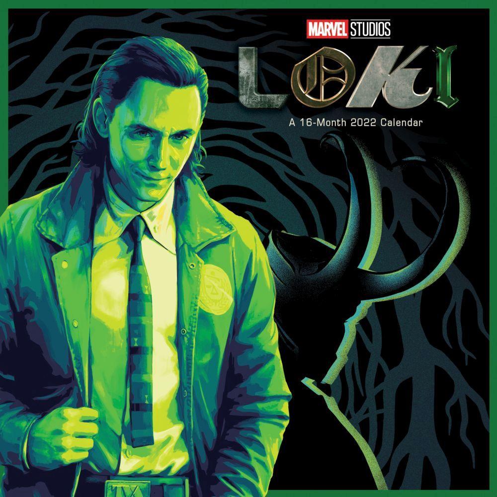 Marvel Loki 2022 Wall Calendar