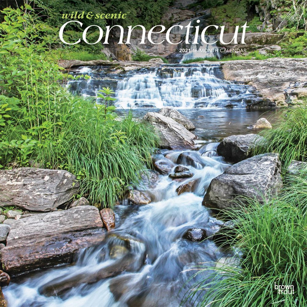 Connecticut Wild and Scenic 2021 Wall Calendar