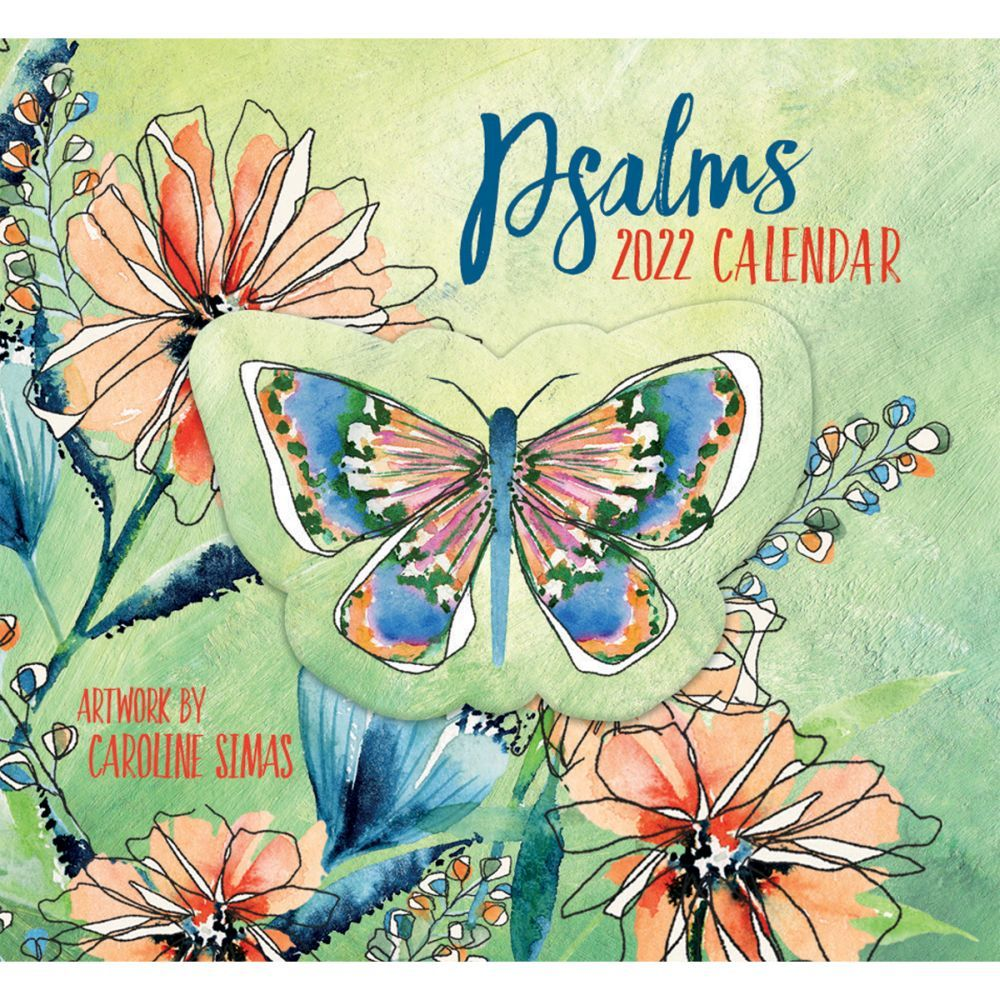 Psalms 365 Daily Thoughts 2022 Desk Calendar