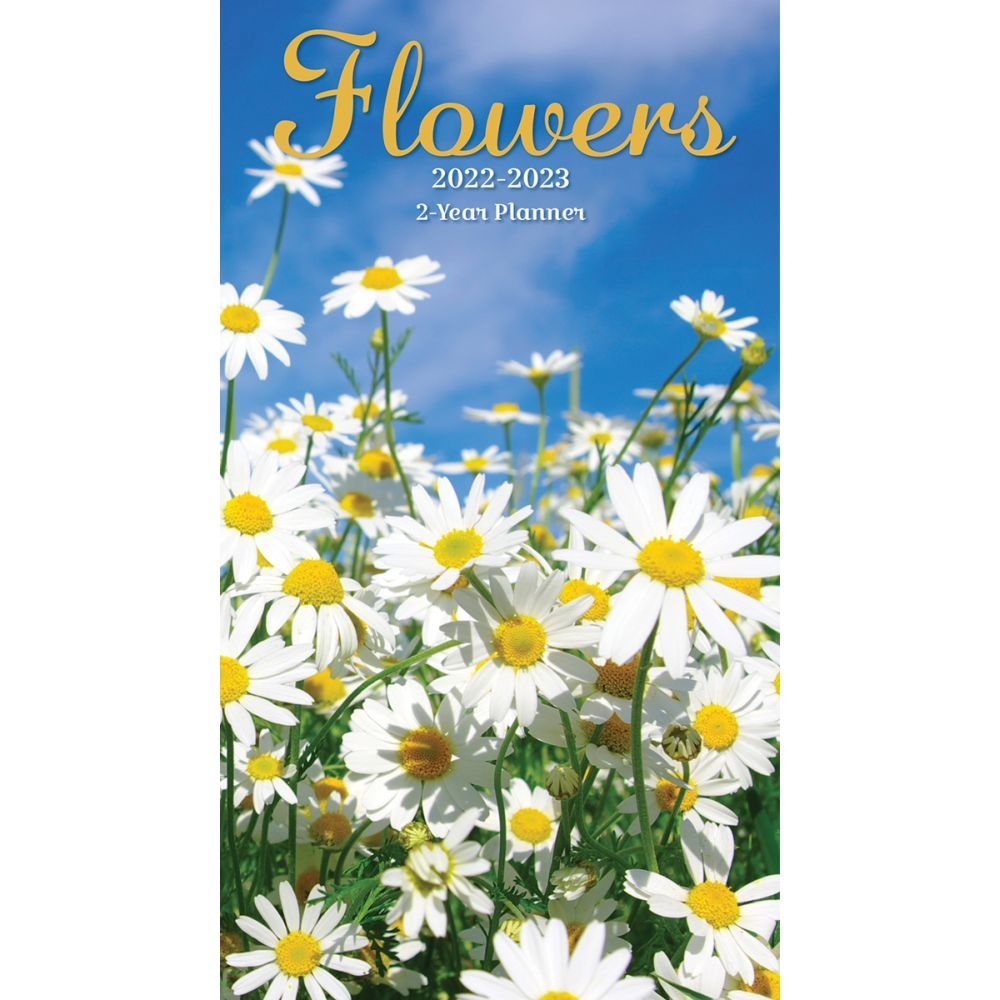Flowers 2022 Two Year Planner