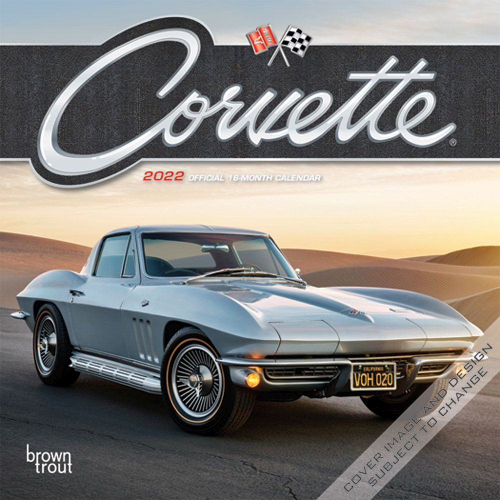 Corvette 2022 Mini Wall Calendar
