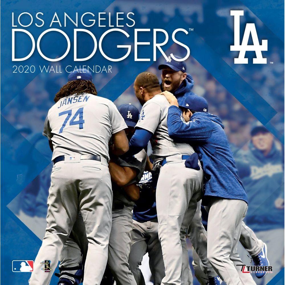 Los Angeles Dodgers 2021 Wall Calendar