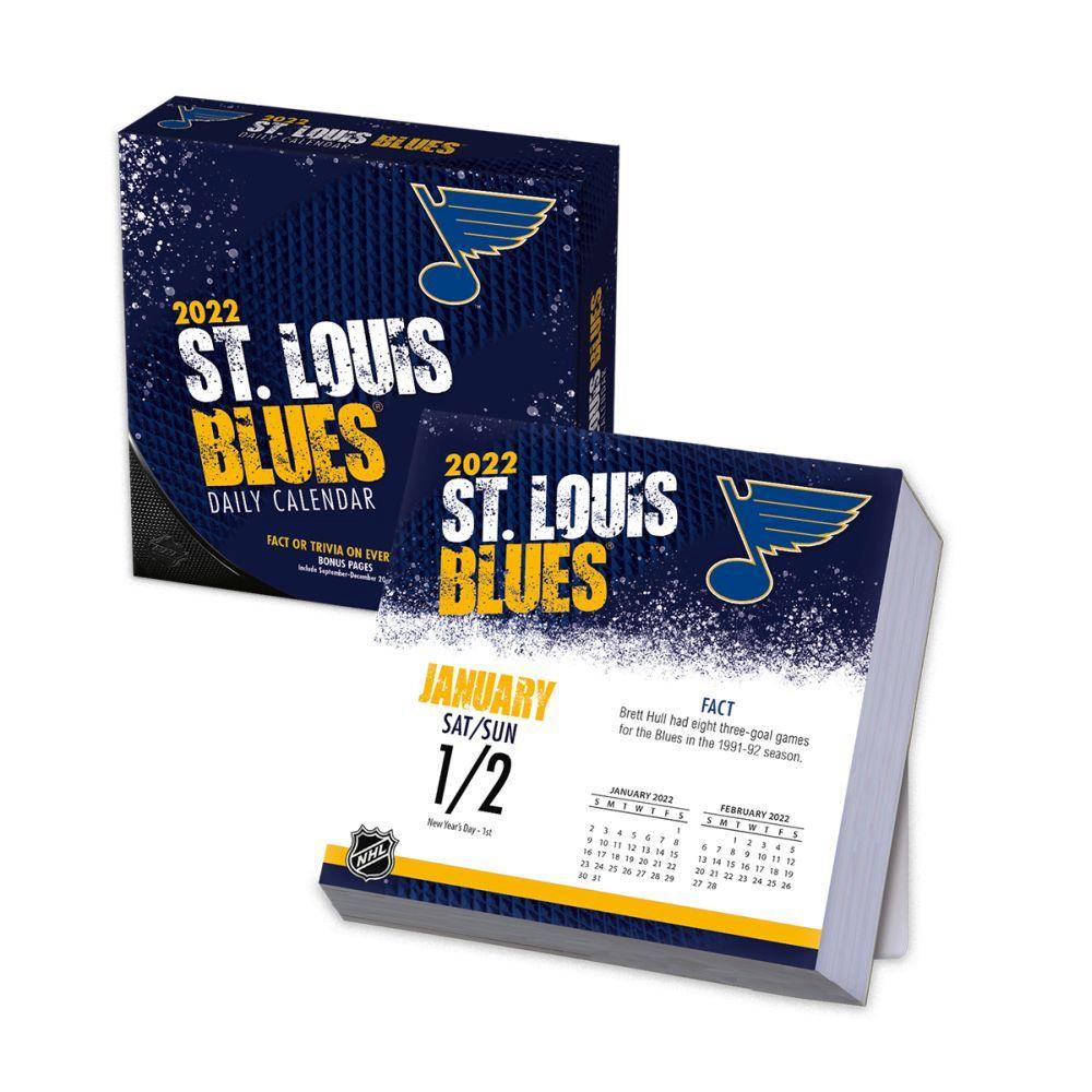 St. Louis Blues 2022 Desk Calendar